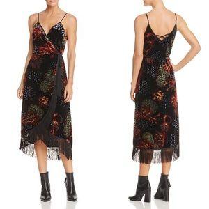 NWT Band of Gypsies Romantic Burnout Fringe Dress